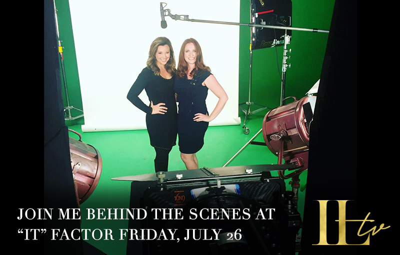 """Read more about the article We're LIVE Behind the Scenes at """"IT"""" Factor"""