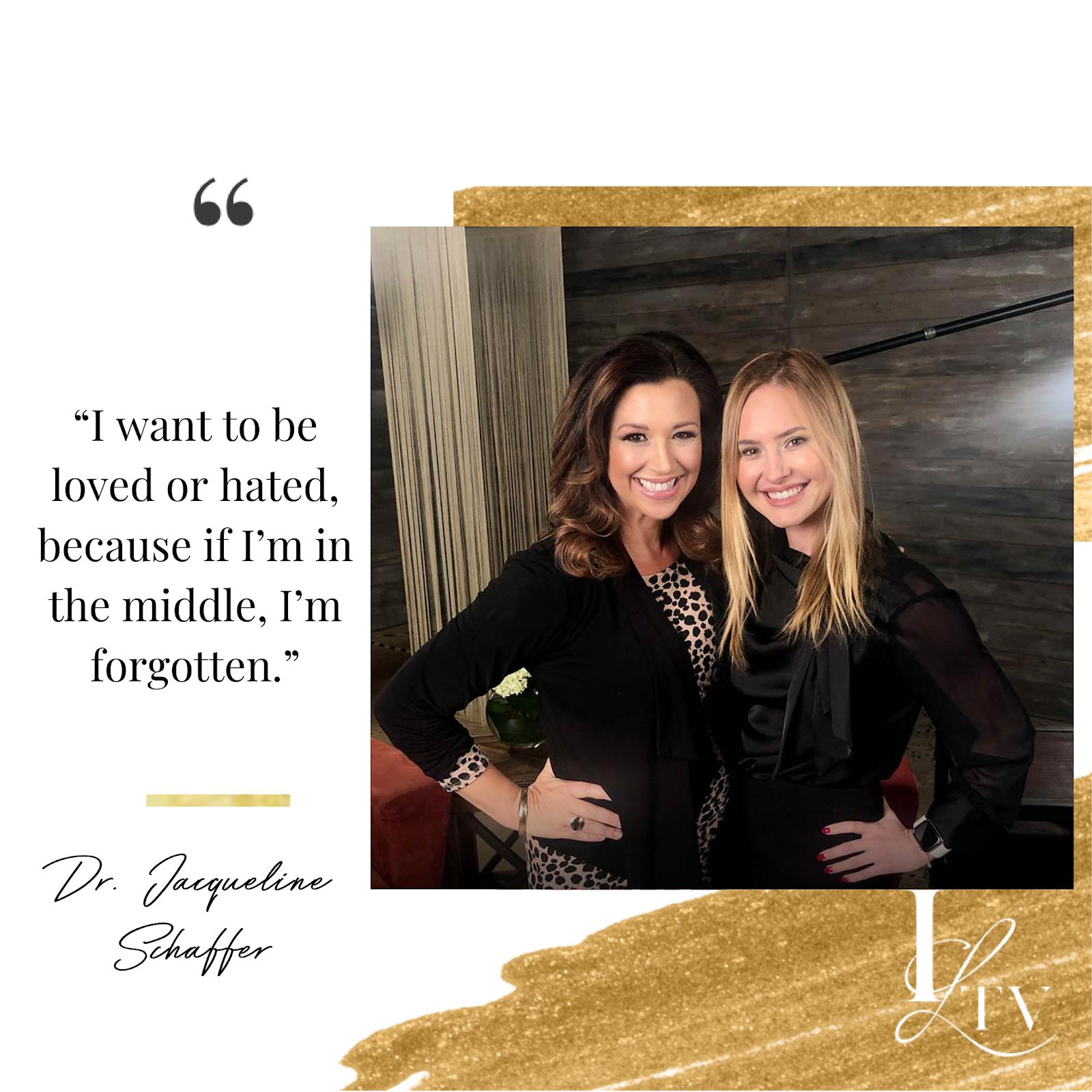 Spotlight Interview: Dr. Jacqueline Schaffer